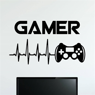 Gamer Controller  3 - wall stickers