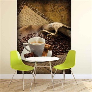 Fototapet-coffee-beans--veggmaleri-2245wm-food-and-drink