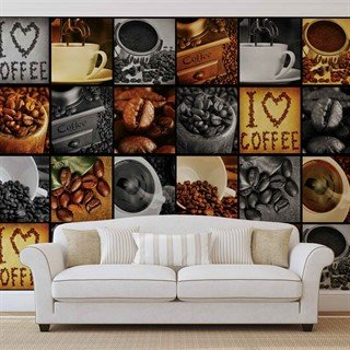 Fototapet-coffee-cup-beans-veggmaleri-3460wm-food-and-drink
