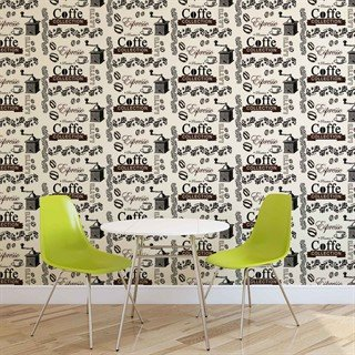 Fototapet-coffee-pattern-veggmaleri-2617wm-food-and-drink