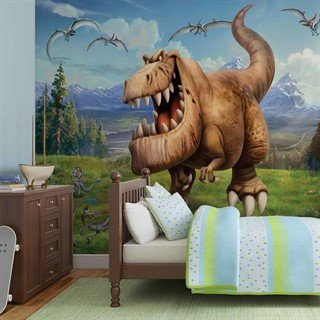 Fototapet-disney-good-dinosaur-boys-bedroom-veggmaleri-3172wm-disney-the-good-dinosaur