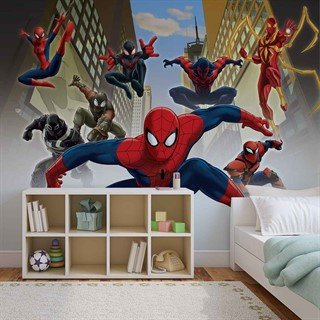 Fototapet-spiderman-marvel-veggmaleri-1274wm-marvel-spiderman