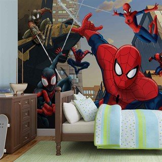 Fototapet-spiderman-marvel-veggmaleri-1275wm-marvel-spiderman