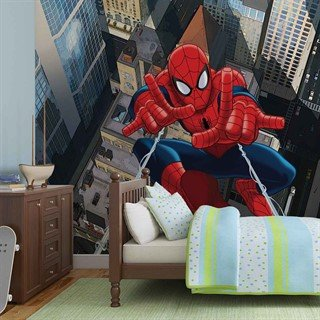 Fototapet-spiderman-marvel-veggmaleri-265wm-marvel-spiderman