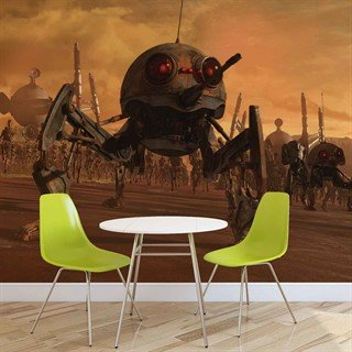 Fototapet-star-wars-dsd1-dwarf-spider-droid-veggmaleri-1595wm-star-wars