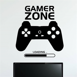 Gamer Zone Loading - wall stickers