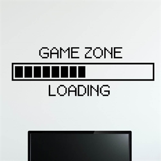 Game Zone - wall stickers