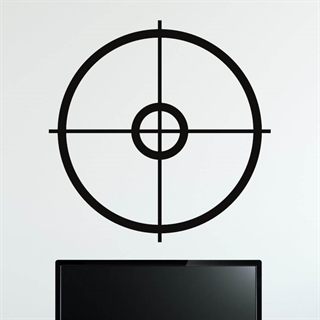 Gamer Crosshairs - wall stickers