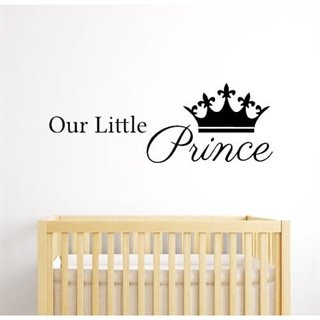 Our little prince - wallstickers