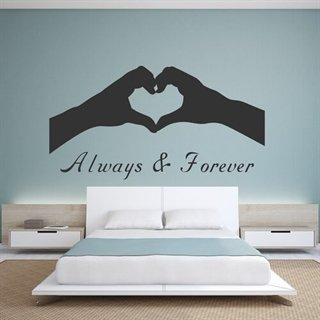 Wallstickers - Always & forever