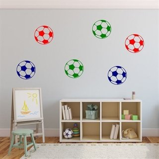 Wallstickers - Fotballer