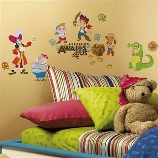 Jake and the never land wallsticker