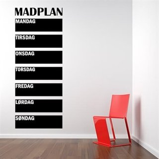 Wallstickers - Matplan