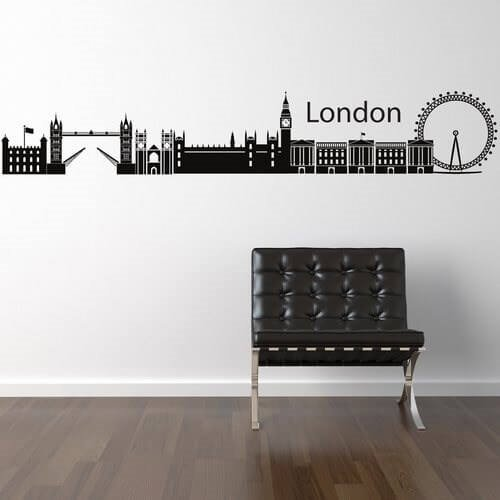 london skyline - få den som wallsticker