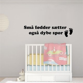 Små føtter - Wallstickers - wallstickers