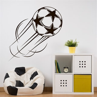 Star fotball - wallstickers