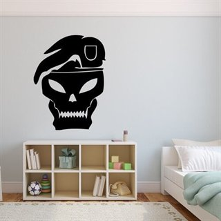 Wallsticker med Call of Duty