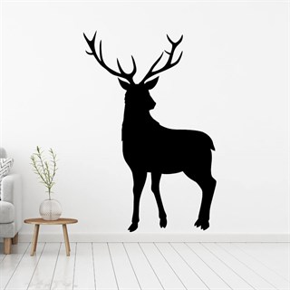 Red Deer som wallsticker