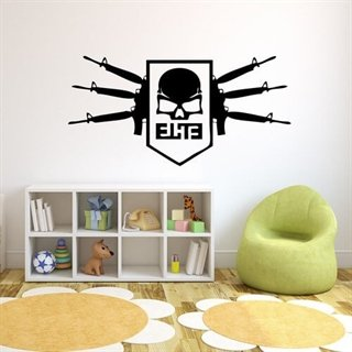 Wallsticker med Call of Duty Elite