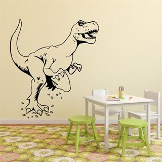 wallsticker med t rex