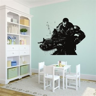Wallsticker med Gow